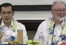 Mayor Isko Moreno and Australian Ambassador Steven Robinson