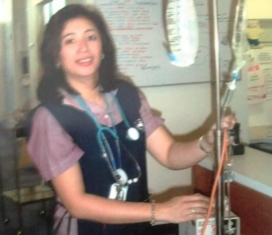 Michelle Aranda is a registered nurse