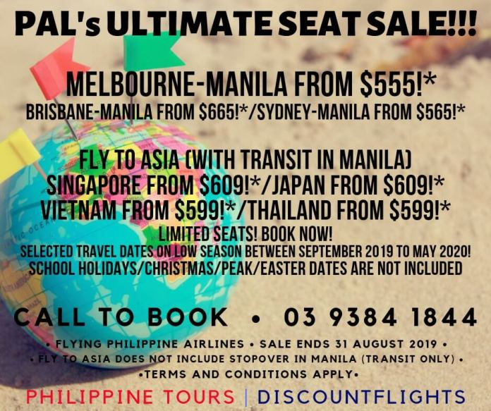 PAL sale from Philippine Tours