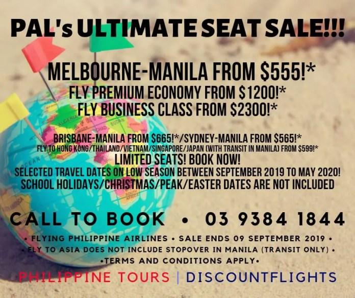 PAL ultimate seat sale