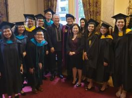 Filo students graduate with honours