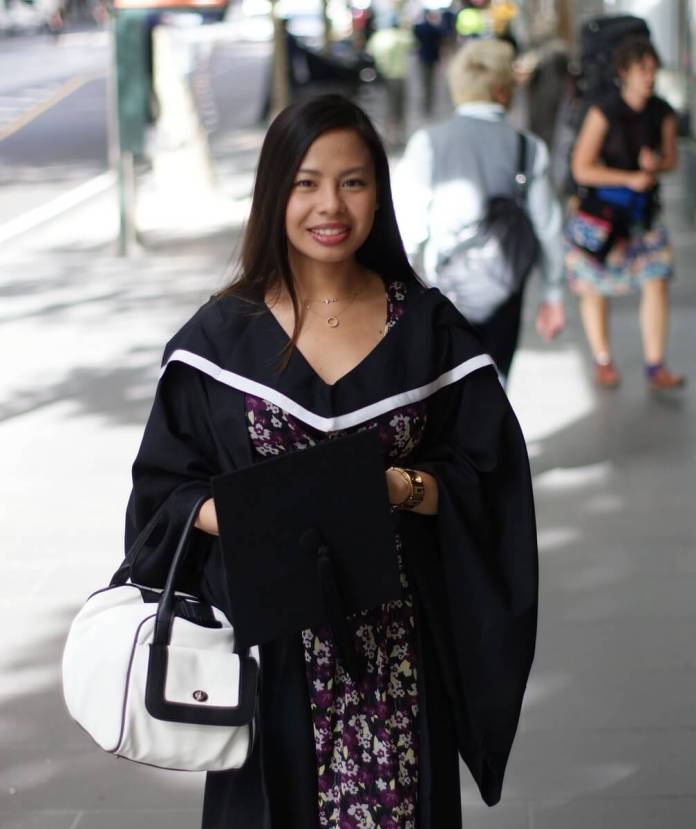 Raine Cabral RMIT Graduation 2009 Photo by Michael Laysico