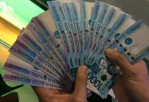 The generous pinoy | one thousand peso bills