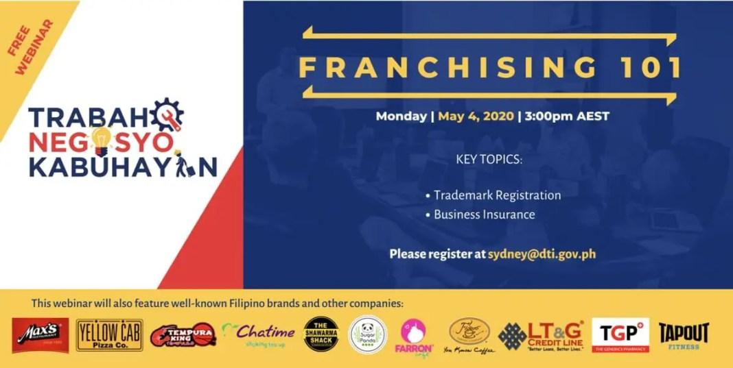 TNK franchising webinar 4 May 2020