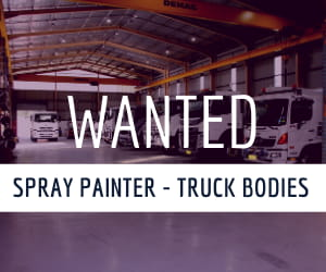 Wanted - Spray Painter - Truck Bodies