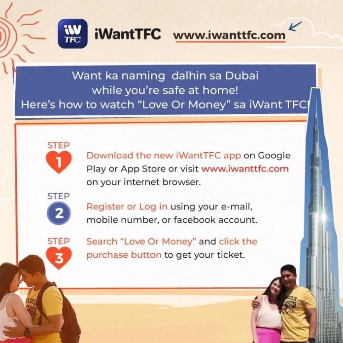 Love or Money iWantTFC