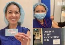 Dr Natividad vaccination | Photo: supplied