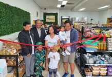 Suki Kart ribbon cutting