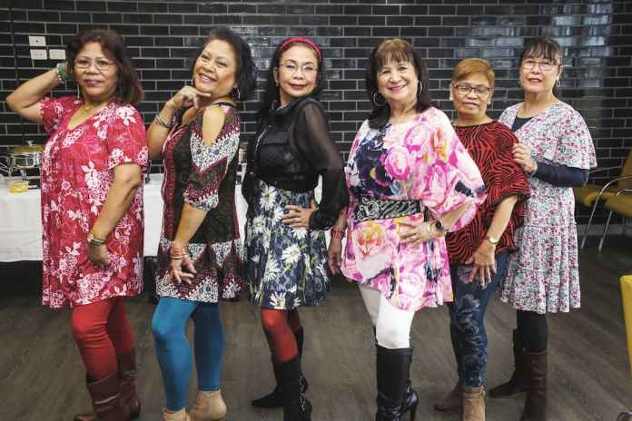 Dancers of the Movement for Filipino Solidarity (MFS) based in Cranbourne