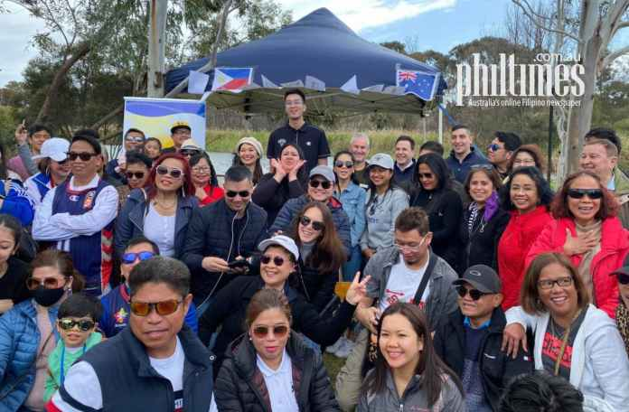 Kai Sotto meets the Filipino community in Adelaide