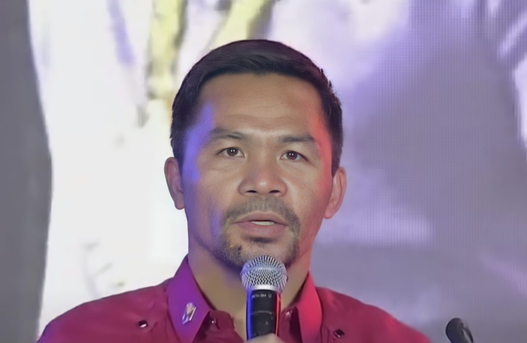 Pacquiao accepts nomination as presidential candidate