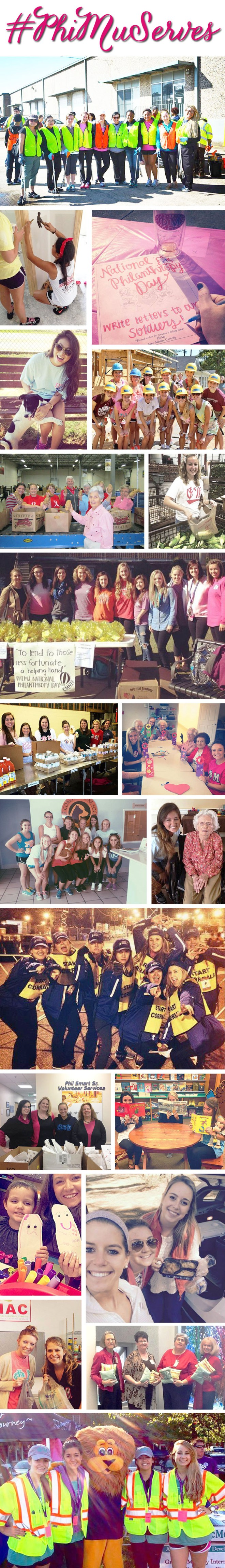 #PhiMuServes