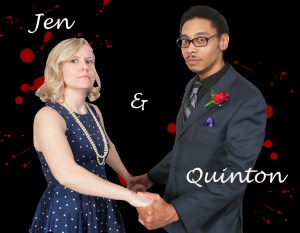 Jen & Quinton perform this weekend at the Philly Improv Theater's new Adrienne Theatre home.