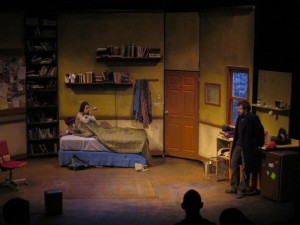 With Matt Pfeiffer in Red Light Winter at Theatre Exile.