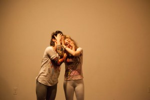 Chelsea Murphy and Magda San Milan in WE TOUCHED IT. Photo by Kate Raines, Plate3Photography.