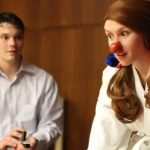 Frank Ermilio and Jessica Orsini star in Thespionage's inaugural production.