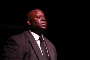 Kash Goins stars as Willy Loman in DEATH OF A SALESMAN. (Photo credit: Katie Balun)