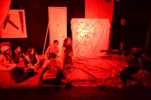Snake-Bitten or The Dragon's Breath: A Backwoods Exorcism is the opening act of Fringe/Fringe 2014.
