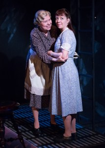 "Carla Belver and Amanda Schoonover star as Amanda and Laura Wingfield in Act II Playhouse's production of Tennessee Williams' ""The Glass Menagerie."" Photo by Mark Garvin."