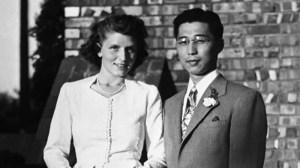 Gordon Hirabayashi and wife