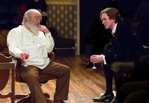 Buck Schirner and Daniel Fredrick in Mickle Street at Walnut Street Theatre's Independence Studio on 3. Photo by Mark Garvin.