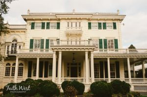Main façade of Glen Foerd mansion (Photo credit: Faith West Photography)