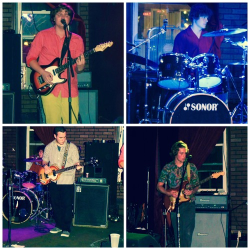 The Moon Jellies (clockwise from top left): Eoin Murphy, Derek Sattazahn, Kevin Moran, Kevin Segal.