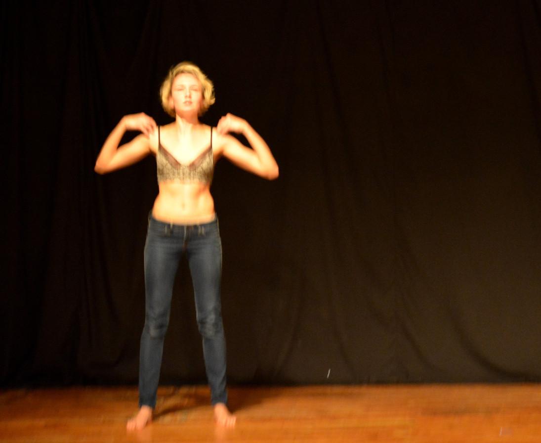 Irina Varina in SPECULUM DIARIES. Photo credit: David Brick.