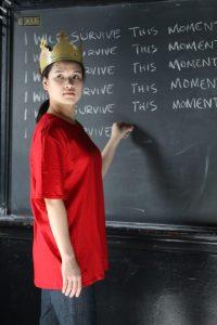 Mina Kawahara in MR BURNS. Photo by Ann Marley.