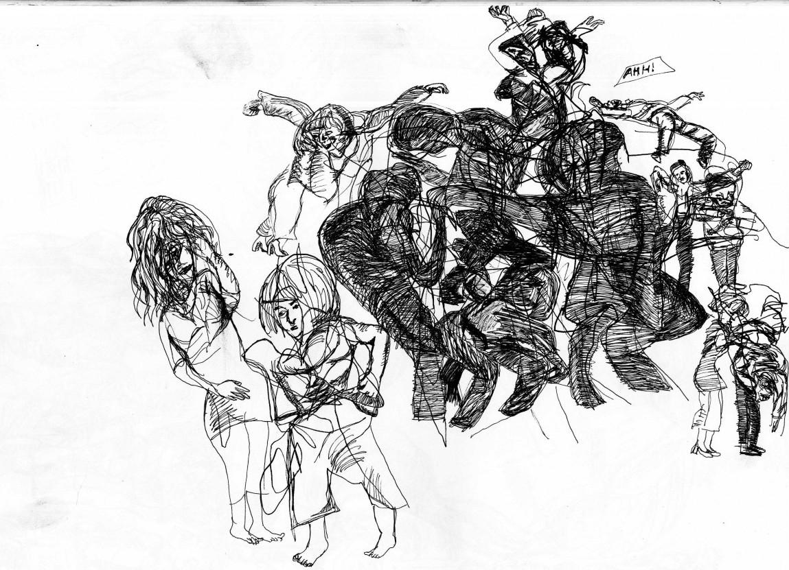 Dance In Sketch Company Wang Ramirez Nextmove Dance