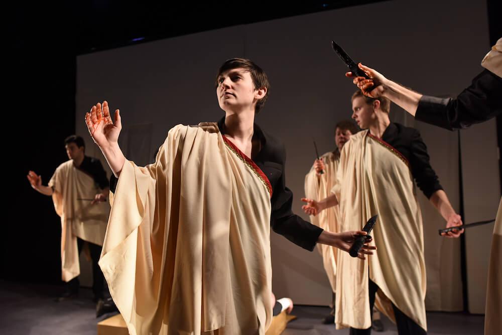 Julius Caesar Quintessence Theatre Group review