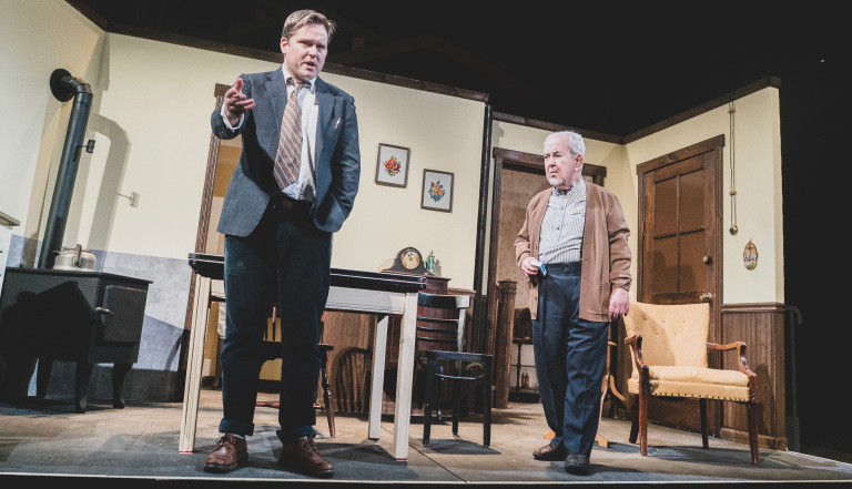 3. Dan McGlaughlin and John Cannon in DA at Irish Heritage Theatre