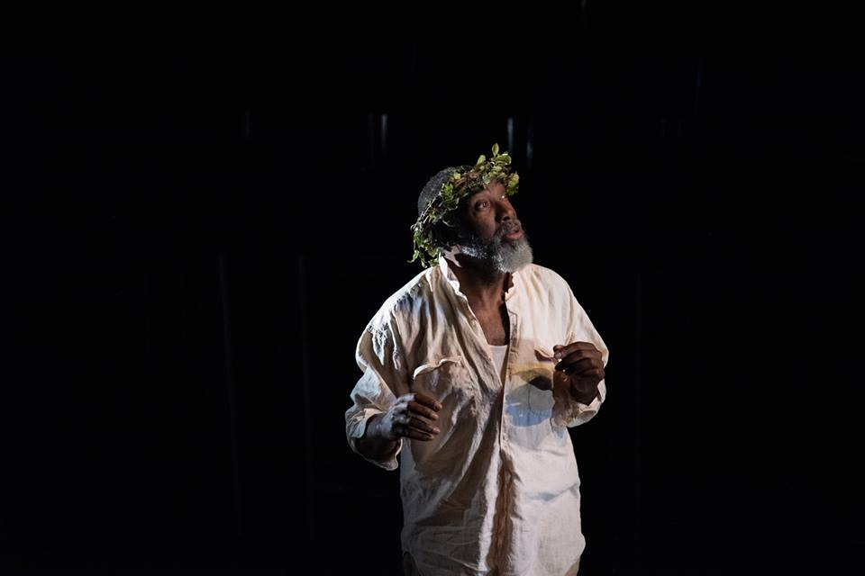 Robert Jason Jackson as Lear. Photo by Linda Johnson.