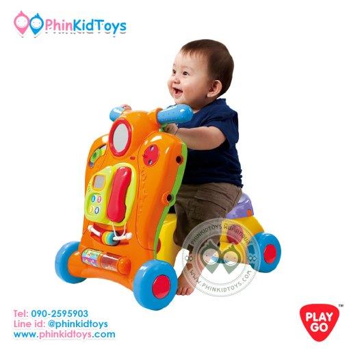 2446 Playgo 2in1 Baby Walker 2อิน1 รถขาไถและรถหัดเดิน