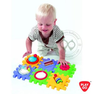 2142 Playgo Cute Cube ชุดลูกบาศก์ 6 ด้านกิจกรรมเซ็ตเด็กเล็ก
