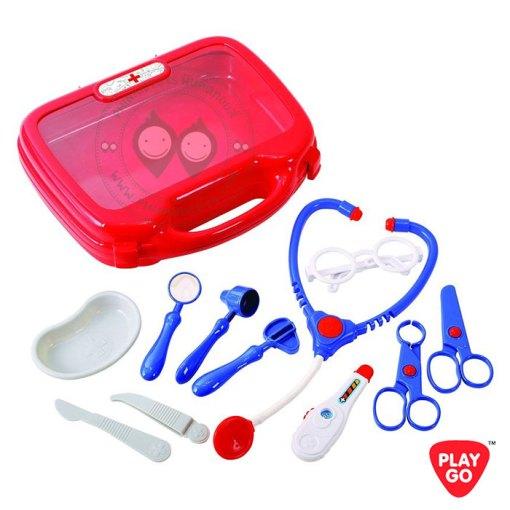 2930-Playgo-Dr.-Sam's-Doctor-Case-ชุดกระเป๋าตรวจสุขภาพคุณหมอ