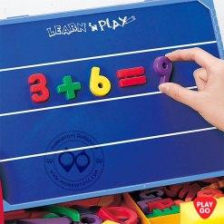 7330-Playgo Write and count กระดานดำแม่เหล็ก-สอนคิดเลขและตัวอักษรภาษาอังกฤษ