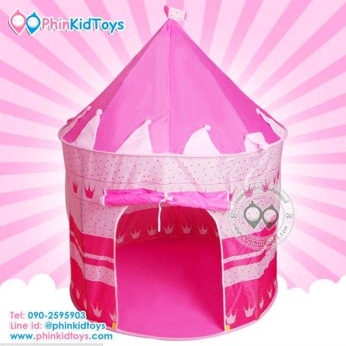 เต็นท์บอลปราสาทเจ้าหญิงสีชมพู