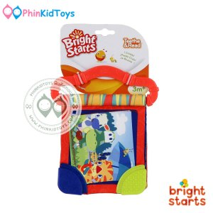 bright starts Teether Book สีส้ม