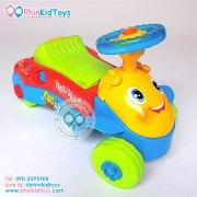 3in1babywalker multi function 2อิน1 รถขาไถและรถหัดเดิน สีฟ้า-2