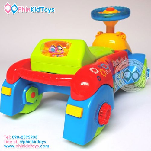 3in1 Baby walker 3in1 รถขาไถและรถหัดเดิน สีฟ้า