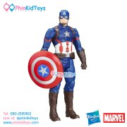 หุ่นโมเดล Hasbro Marvel Titan Hero Series Captain America Electronic Figure 12-inch มีเสียง พูดได้