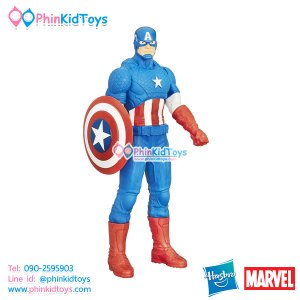 หุ่นโมเดล Hasbro Marvel Captain America Titan Hero Series 20-inch