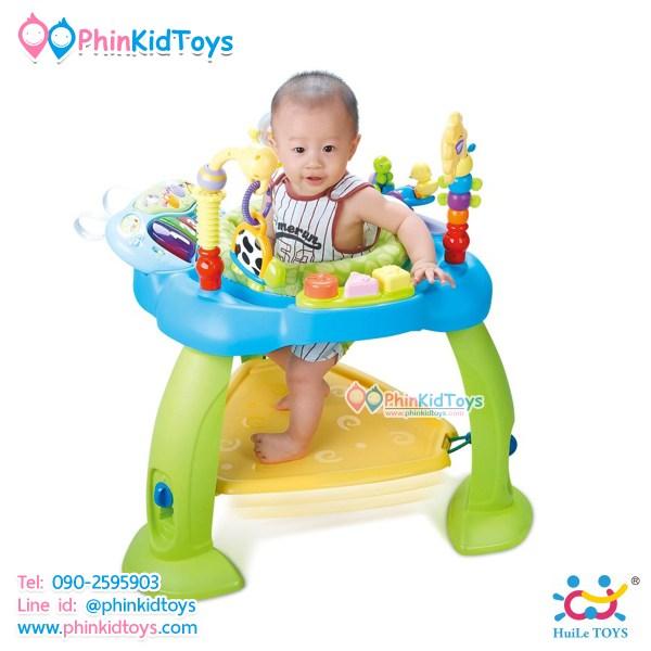เก้าอี้กระโดดเสริมพัฒนาการ Multi-Functional Baby Jumping Chair ยี่ห้อ Huile Toys