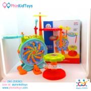 กลองชุดอิเล็คทรอนิคส์สำหรับเด็ก Huile Toys Dynamic Jazz Drum-11
