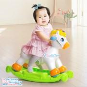 Huile Toys 2in1 ม้าโยกและม้าขาไถ-2