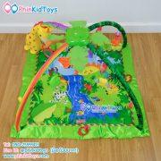เพลยิมสี่เหลี่ยมลายยีราฟ Baby Gift Rainforest-3