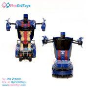 รถบังคับรีโมทแปลงหุ่นยนต์-สีน้ำเงินดำ-08