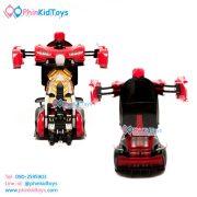 รถบังคับรีโมทแปลงหุ่นยนต์-สีแดงดำ-08