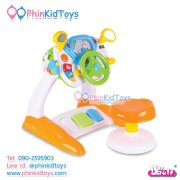 Baoli-simulation-drive-baby-steering-wheel-toy-รถหัดขับเด็กชุดใหญ่-01
